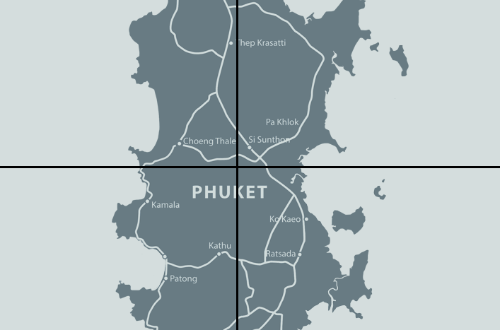 Phuket Map Real Estate