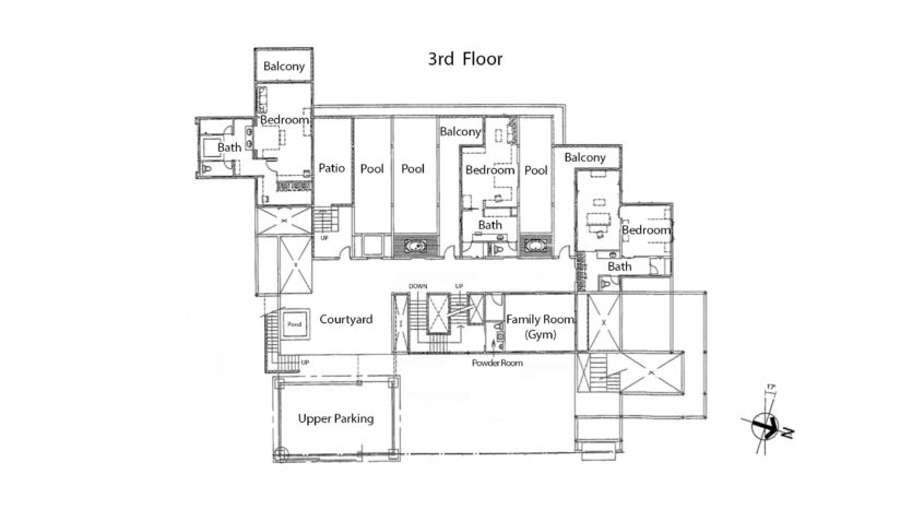 Ayara 3rd Floor Plan