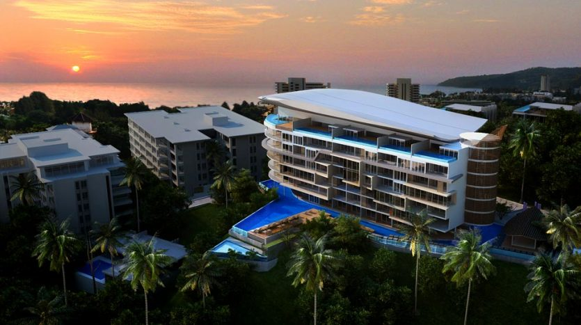 Easy living phuket sunsets morning sunrise good investment high return Karon Hill Residence property